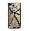 The Cracked Wooden Stump Apple iPhone 6 Otterbox Defender Case Skin Set