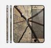 The Cracked Wooden Stump Skin for the Apple iPhone 6 Plus
