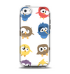 The Crazy Birds Apple iPhone 5c Otterbox Symmetry Case Skin Set
