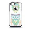 The Crazy Cartoon Owls Skin for the iPhone 5c OtterBox Commuter Case