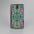The Crazy Neon Mirrored Swirls Skin-Sert Case for the Samsung Galaxy Note 3
