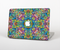 "The Crazy Neon Mirrored Swirls Skin Set for the Apple MacBook Pro 15"" with Retina Display"
