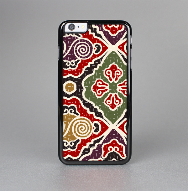 The Creative Colorful Swirl Design Skin-Sert Case for the Apple iPhone 6 Plus