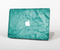 "The Crumpled Trendy Green Texture Skin Set for the Apple MacBook Pro 15"" with Retina Display"