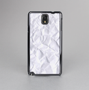 The Crumpled White Paper Skin-Sert Case for the Samsung Galaxy Note 3