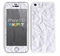 The Crumpled White Paper Skin for the Apple iPhone 5c