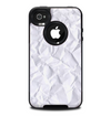 The Crumpled White Paper Skin for the iPhone 4-4s OtterBox Commuter Case