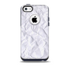 The Crumpled White Paper Skin for the iPhone 5c OtterBox Commuter Case