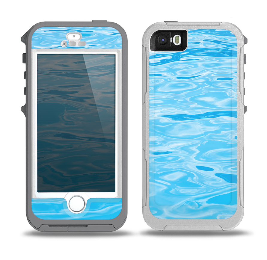 online retailer b6e74 36569 The Crystal Clear Water Skin for the iPhone 5-5s OtterBox Preserver  WaterProof Case