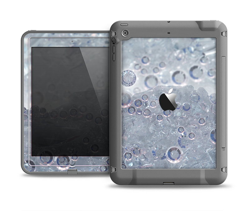 The Crystalized Apple iPad Air LifeProof Fre Case Skin Set