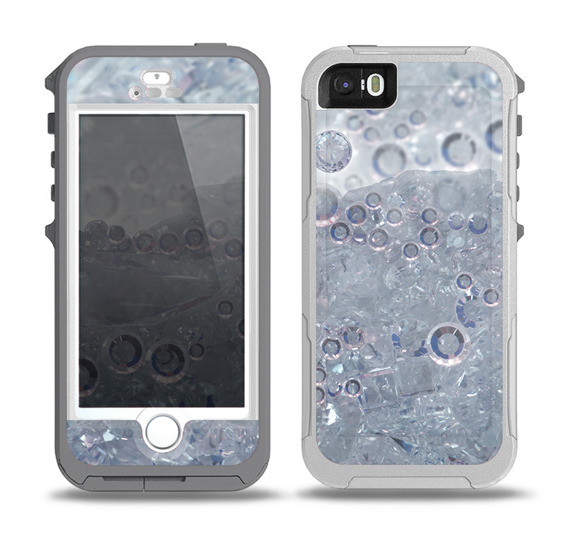 The Crystalized Skin for the iPhone 5-5s OtterBox Preserver WaterProof Case