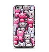 The Cute Abstract Kittens Apple iPhone 6 Plus Otterbox Symmetry Case Skin Set