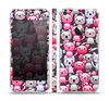 The Cute Abstract Kittens Skin Set for the Apple iPhone 5