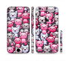 The Cute Abstract Kittens Sectioned Skin Series for the Apple iPhone 6
