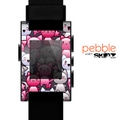 The Cute Abstract Kittens Skin for the Pebble SmartWatch