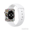 The Cute, Colorful One-Eyed Cats Pattern Full-Body Skin Kit for the Apple Watch