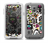 The Cute, Colorful One-Eyed Cats Pattern Skin Samsung Galaxy S5 frē LifeProof Case