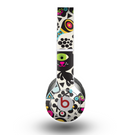 The Cute, Colorful One-Eyed Cats Pattern Skin for the Beats by Dre Original Solo-Solo HD Headphones