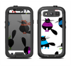 The Cute Fashion Cats Samsung Galaxy S3 LifeProof Fre Case Skin Set