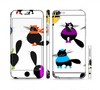The Cute Fashion Cats Sectioned Skin Series for the Apple iPhone 6 Plus