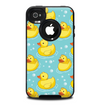The Cute Rubber Duckees Skin for the iPhone 4-4s OtterBox Commuter Case
