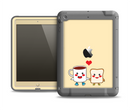 The Cute Toast & Mug Breakfast Couple Apple iPad Air LifeProof Fre Case Skin Set