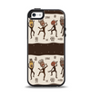 The Dancing Aztec Masked Cave-Men Apple iPhone 5-5s Otterbox Symmetry Case Skin Set