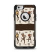 The Dancing Aztec Masked Cave-Men Apple iPhone 6 Otterbox Commuter Case Skin Set