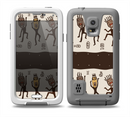 The Dancing Aztec Masked Cave-Men Skin for the Samsung Galaxy S5 frē LifeProof Case