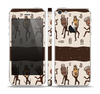 The Dancing Aztec Masked Cave-Men Skin Set for the Apple iPhone 5