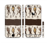 The Dancing Aztec Masked Cave-Men Sectioned Skin Series for the Apple iPhone 6 Plus