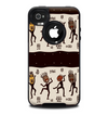 The Dancing Aztec Masked Cave-Men Skin for the iPhone 4-4s OtterBox Commuter Case