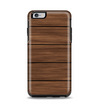 The Dark-Grained Wood Planks V4 Apple iPhone 6 Plus Otterbox Symmetry Case Skin Set
