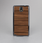The Dark-Grained Wood Planks V4 Skin-Sert Case for the Samsung Galaxy Note 3