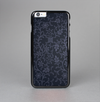 The Dark Black & Purple Delicate Pattern Skin-Sert Case for the Apple iPhone 6 Plus
