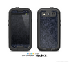 The Dark Black & Purple Delicate Pattern Skin For The Samsung Galaxy S3 LifeProof Case