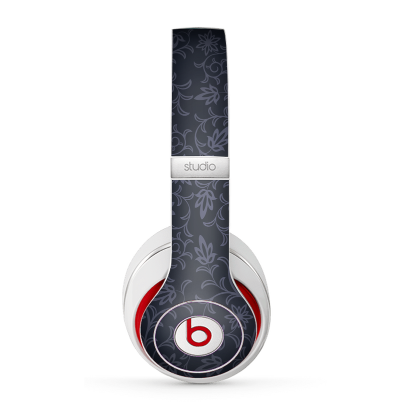 The Dark Black & Purple Delicate Pattern Skin for the Beats by Dre Studio (2013+ Version) Headphones