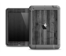 The Dark Black WoodGrain Apple iPad Air LifeProof Fre Case Skin Set