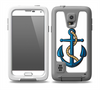The Dark Blue Anchor with Rope Skin for the Samsung Galaxy S5 frē LifeProof Case