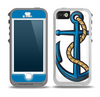 The Dark Blue Anchor with Rope Skin for the iPhone 5-5s OtterBox Preserver WaterProof Case