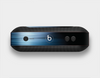 The Dark Blue Streaks Skin Set for the Beats Pill Plus