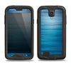 The Dark Blue Streaks Samsung Galaxy S4 LifeProof Nuud Case Skin Set
