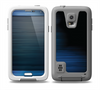 The Dark Blue Streaks Skin for the Samsung Galaxy S5 frē LifeProof Case