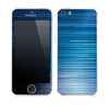 The Dark Blue Streaks Skin for the Apple iPhone 5s