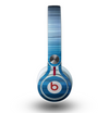 The Dark Blue Streaks Skin for the Beats by Dre Mixr Headphones