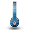 The Dark Blue Streaks Skin for the Beats by Dre Original Solo-Solo HD Headphones