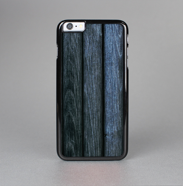 The Dark Blue Washed Wood Skin-Sert Case for the Apple iPhone 6 Plus