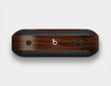 The Dark Brown Wood Grain Skin Set for the Beats Pill Plus