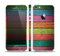 The Dark Colorful Wood Planks V2 Skin Set for the Apple iPhone 5