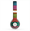 The Dark Colorful Wood Planks V2 Skin for the Beats by Dre Solo 2 Headphones